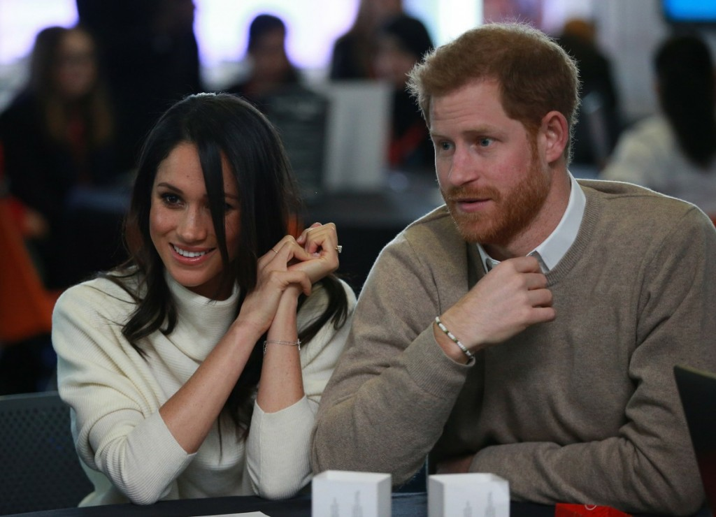 Prince Harry and Meghan Markle attend an event at Millennium Point to celebrate International Women's Day in Birmingham on 8th March 2018