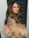 Chrissy Teigen arrives at the 2019 Vanity Fair Oscar Party held at the Wallis Annenberg Center for the Performing Arts on February 24, 2019 in Beverly Hills, Los Angeles, California, United States. (Photo by Xavier Collin/Image Press Agency)