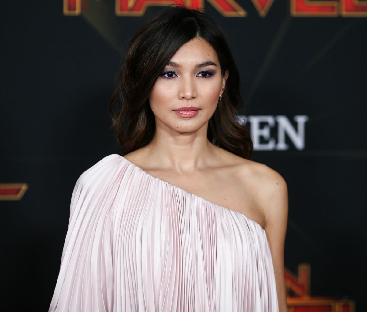 Actress Gemma Chan arrives at the World Premiere Of Marvel Studios 'Captain Marvel' held at the El Capitan Theatre on March 4, 2019 in Hollywood, Los Angeles, California, United States. (Photo by Xavier Collin/Image Press Agency)