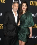 """George Clooney, Amal Clooney attends The premiere of """"Catch-22"""" in Los Angeles"""