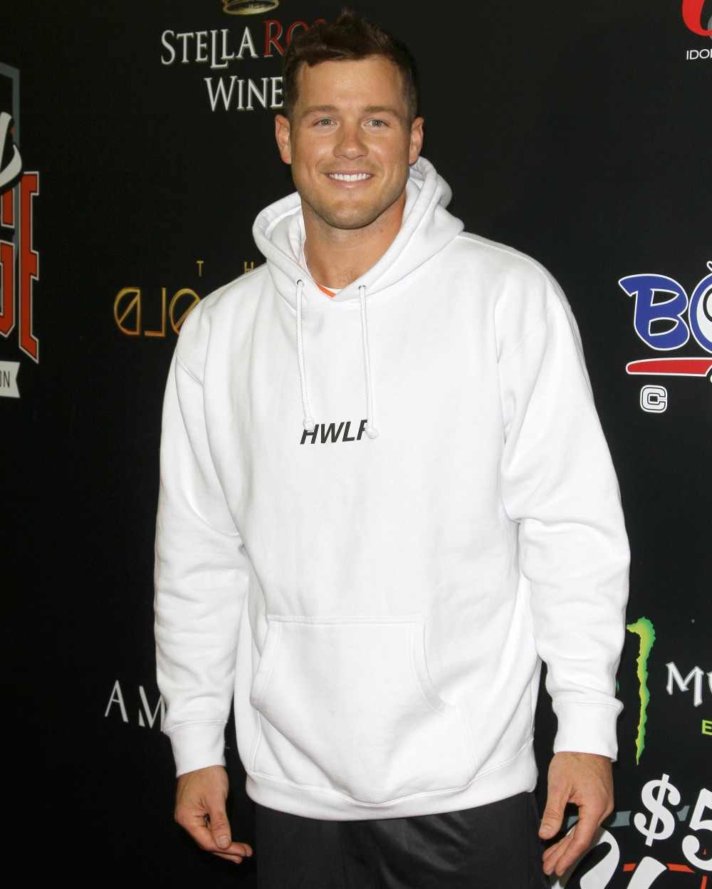 Colton Underwood attends The Monster Energy $50K Charity Challenge Basketball Game in Los Angeles