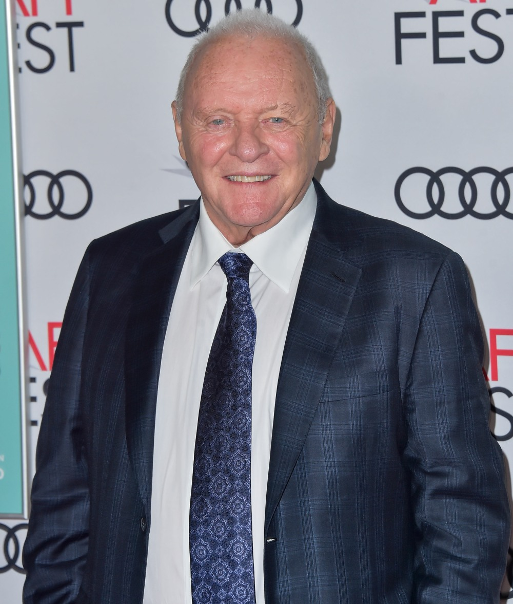 Actor Sir Anthony Hopkins arrives at the AFI FEST 2019 - Premiere Of Netflix's 'The Two Popes' held at the TCL Chinese Theatre IMAX on November 18, 2019 in Hollywood, Los Angeles, California, United States. (Photo by Image Press Agency)