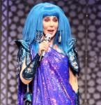 Singer Cher performed live at the Wells fargo Center in Philadelphia
