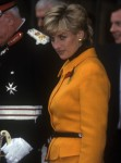 Diana, Princess of Wales, visits Liverpool Cathedral