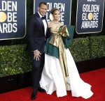 Alex Rodriguez and Jennifer Lopez attending the 77th Annual Golden Globe Awards at The Beverly Hilton Hotel on January 5, 2020 in Beverly Hills, California. | usage worldwide