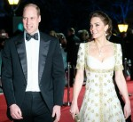 Prince William, Duke of Cambridge and Kate, Duchess of Cambridge attends the 2020 EE British Academy Film Awards on Sunday 2 February 2020