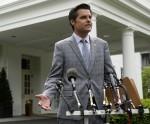 Congressmen speak with journalists - Washington