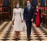 Royal visit to London vaccination centre