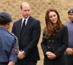 Duke and Duchess of Cambridge visit 282 East Ham Squadron Air Training Corps