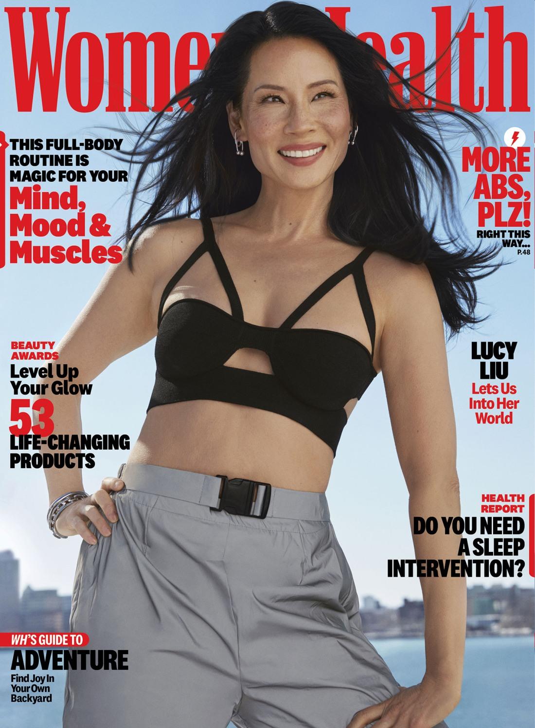lucy liu womens health