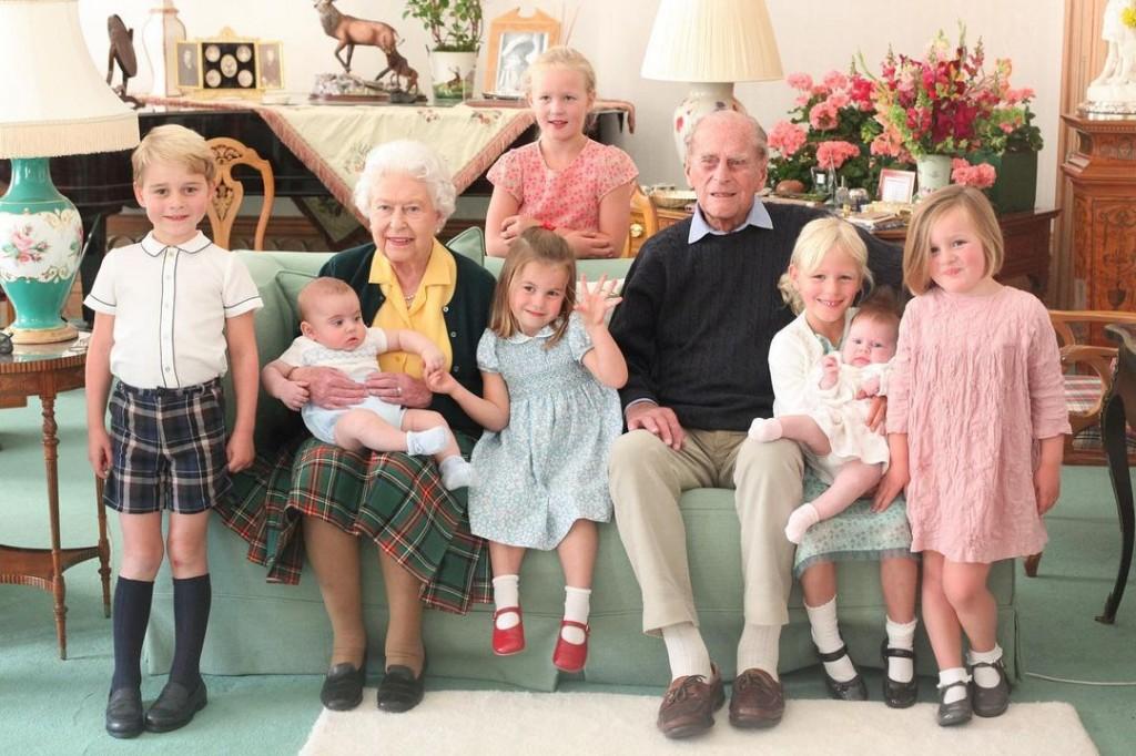 queen philip children
