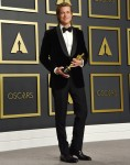 Brad Pitt in the press room during the 92nd Annual Academy Awards at Hollywood and Highland on Febru...