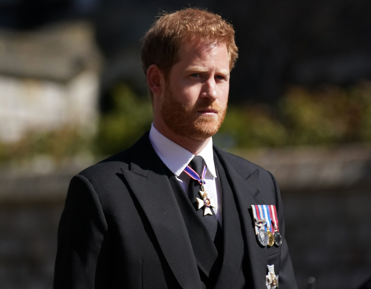 Again, no one knows if Prince Harry has already flown back to California?