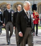 Prince Charles leads the mourners