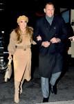 Jennifer Lopez and Alex Rodriguez arrive for the 'Second Act' surprise premiere