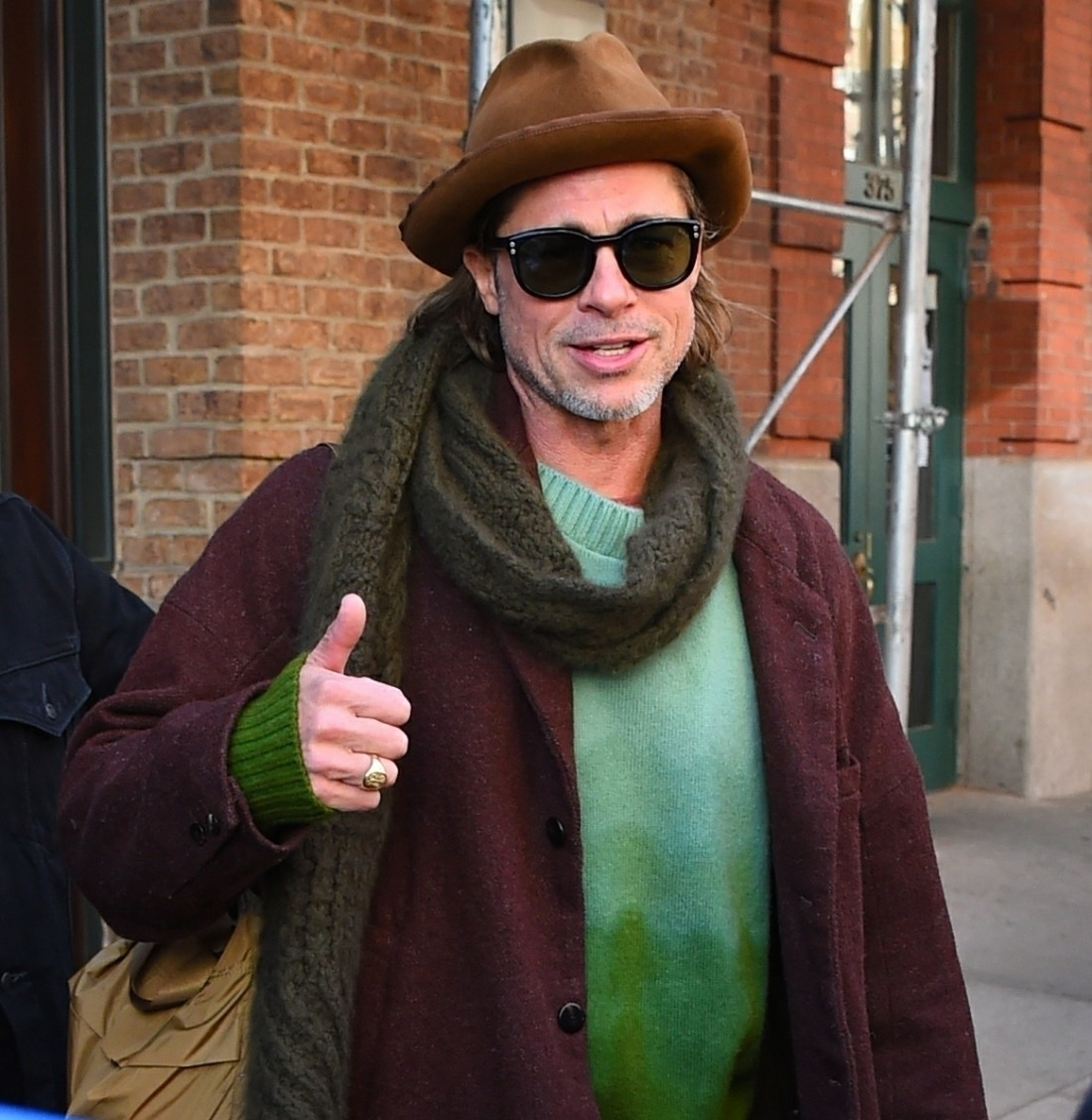 Brad Pitt checks out of his Tribeca hotel
