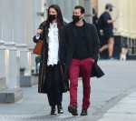 Katie Holmes and Emilio Vitolo Jr. hold hands as they go shopping in NYC