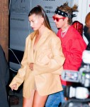 Justin Bieber and Hailey Bieber step out for a romantic date night at Craig's!