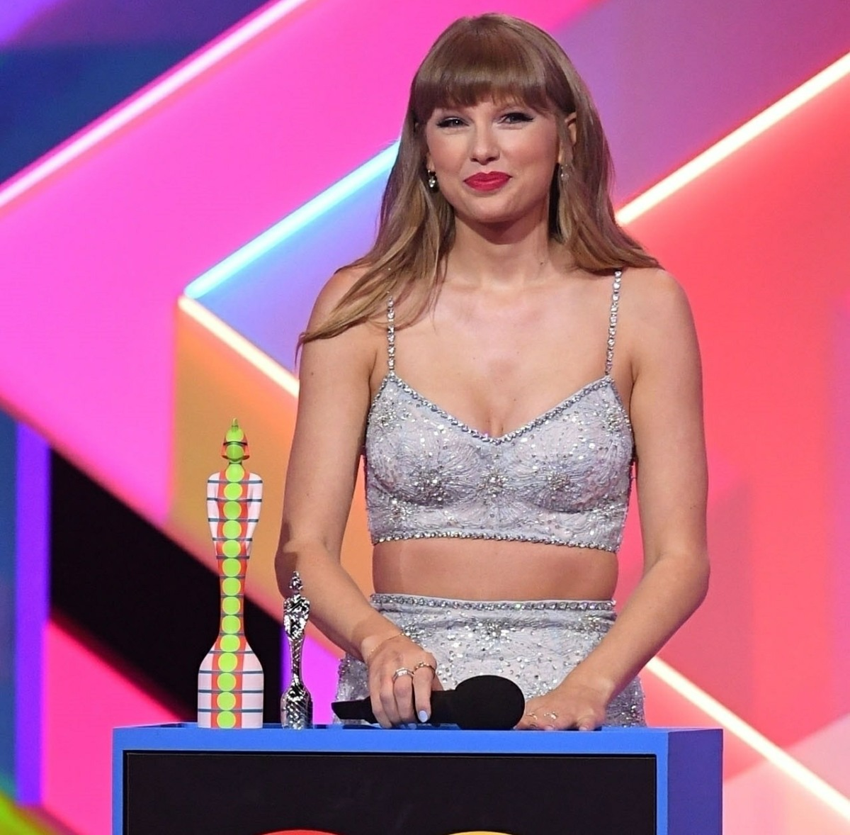 The BRIT Awards 2021 at The O2 Arena in London, England