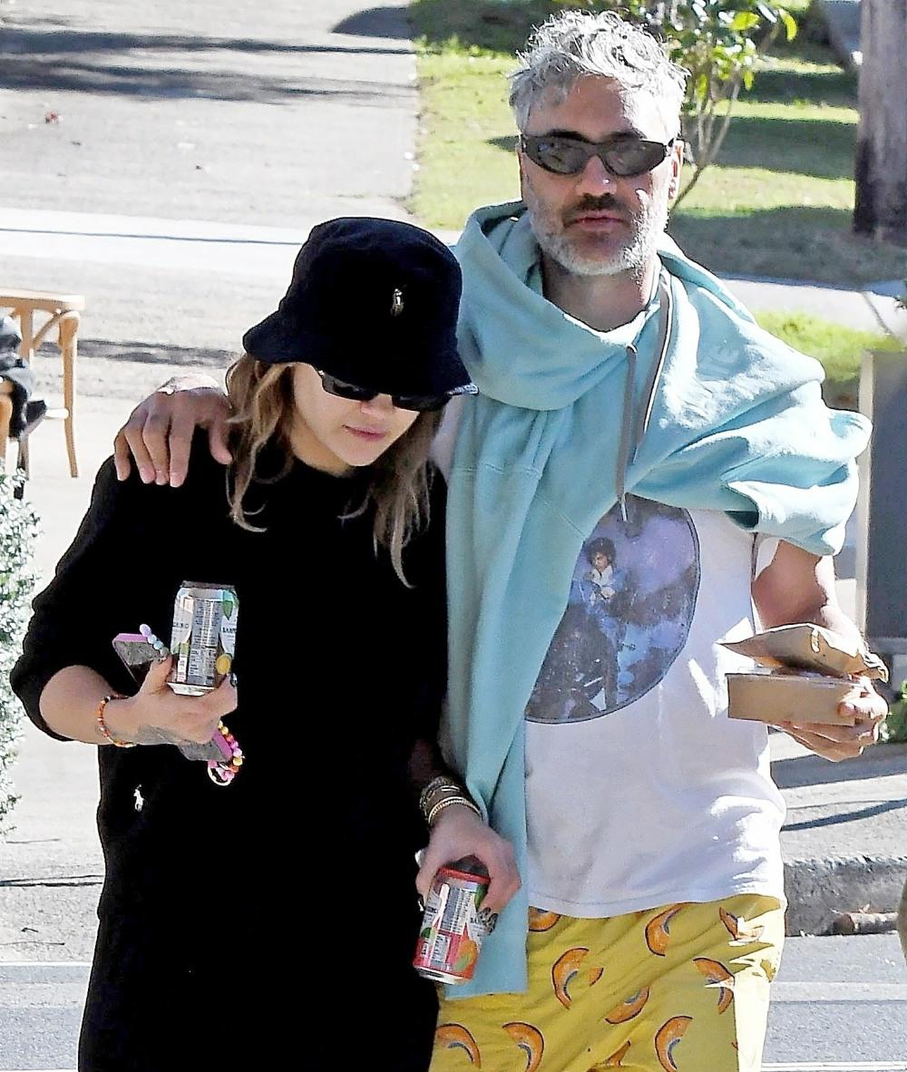 New Couple Alert! Kiwi director Taika Waititi and British singer Rita Ora make their first public appearance as a couple