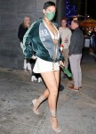 Rihanna channels the 2012 RiRi as she rocks a bold pixie hairstyle while grabbing dinner at Nobu!