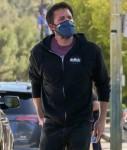 Ben Affleck arrives at Samuel's swim class in Brentwood