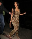 Kim Kardashian exits Kendall Jenner's 818 Tequila Launch Party!