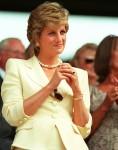 HRH PRINCESS OF WALES(HRH Princess Diana)Seen at the 1995 WimbledonTennis Championships.COMPULSORY CREDIT: UPPA/PhotoshotPhoto UGL 009812/G-04a  09.07.1995