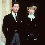 HRH PRINCE AND PRINCESS OF WALES Attending the funeral of the Duchess of Windsor at St George's Chapel, Windsor Castle COMPULSORY CREDIT: UPPA/Photoshot Photo CE 208401   29.04.1986