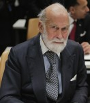 Prince Michael of Kent at the United Nations for Road Safety Conferences