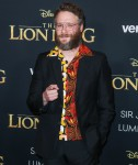 Actor Seth Rogen arrives at the World Premiere Of Disney's 'The Lion King' held at the Dolby Theatre on July 9, 2019 in Hollywood, Los Angeles, California, United States. (Photo by Xavier Collin/Image Press Agency)