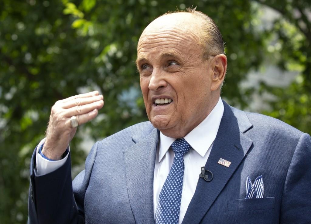 Giuliani Speaks to the Media