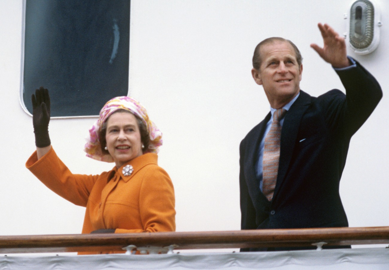 Queen Elizabeth II. on state visit in Germany 1978