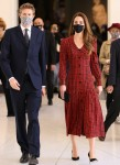 THE DUCHESS OF CAMBRIDGE TO VISIT THE V&A Wednesday 19th May, 2021The Duchess with Tristram Hunt, Director, V&A Museum The Duchess of Cambridge, Royal Patron, will visit the V&A on Wednesday 19th May to view two new exhibitions as the museum reope