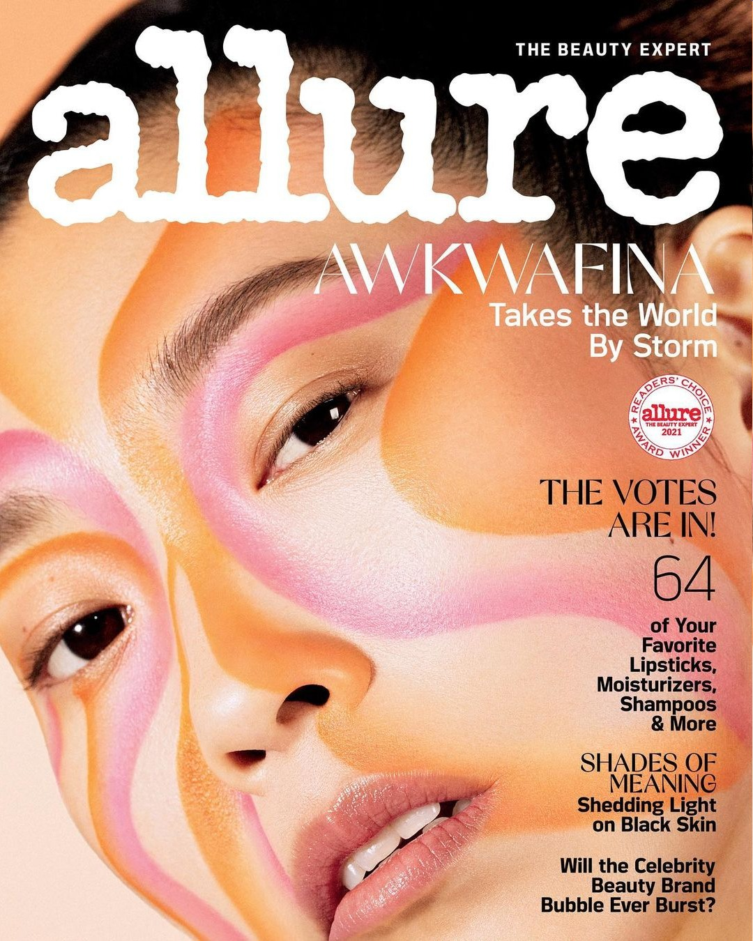Awkwafina talks about being a thrifty, disorganized, empath extrovert with Allure