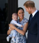 Britain's Prince Harry and Meghan visit South Africa