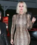 Kourtney and Khloe Kardashian dine at Giorgio Baldi with Kylie and Kim