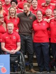 Prince Harry, The Duke of Sussex, attends the launch of the team selected to represent the UK at the Invictus Games The Hague 2020
