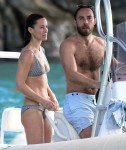 Pippa Middleton spends time with her family on holiday in St. Barts
