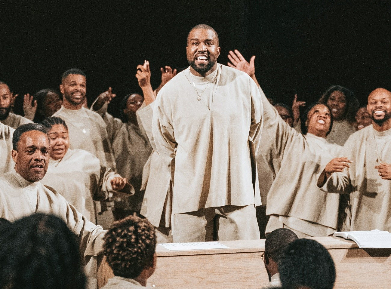 Kanye West admits election defeat after receiving 60,000 votes **FILE PHOTOS**