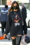 Irina Shayk pays tribute to late rapper DMX by wearing shirt designed by Kanye West