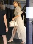 Jennifer Lopez makes a visit to Wildwood School Independent school in LA