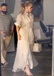 Jennifer Lopez ends her visit to Wildwood School Independent school in LA