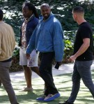 Kanye West spotted back in Los Angeles visiting Golden Heart Ranch in Malibu