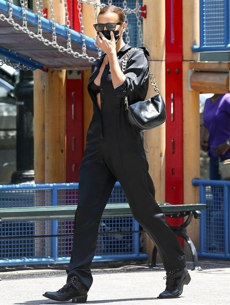 Kanye West's new girlfriend Irina Shayk steals the scene in NYC!