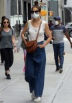 Katie Holmes steps out in NYC after A-Rod was spotted leaving her apartment building