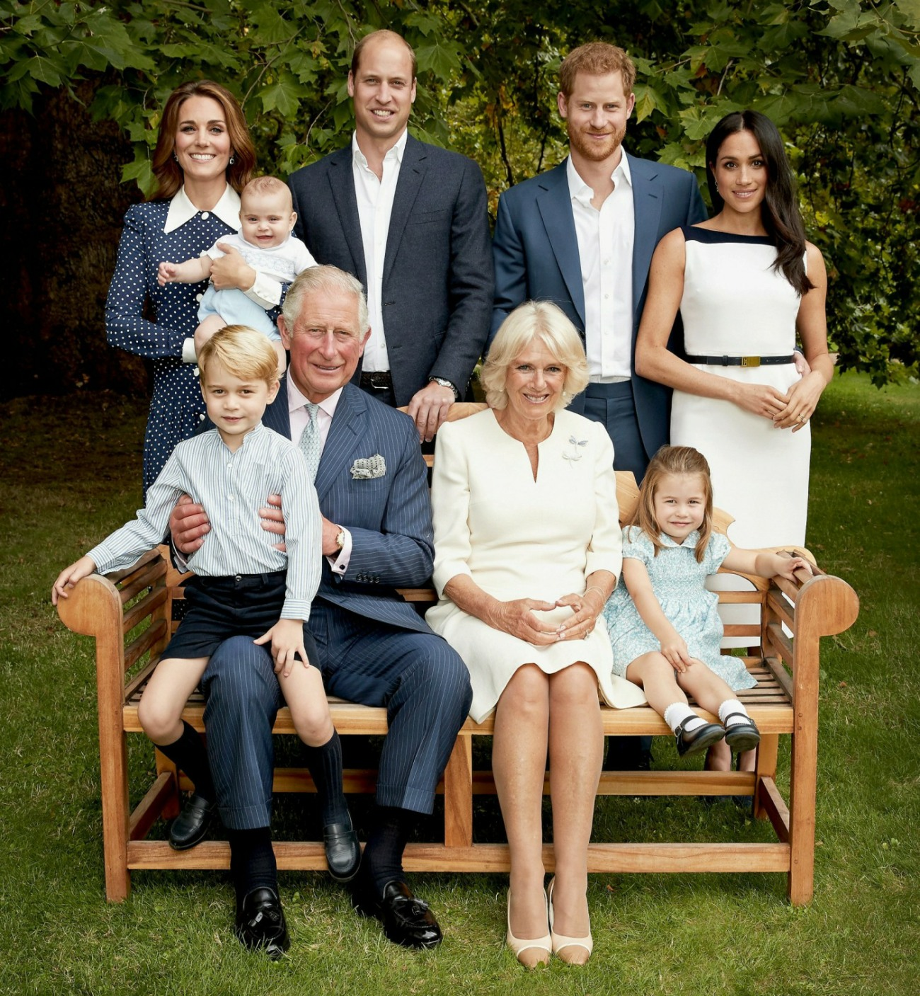 HRH The Prince of Wales Birthday Family Portrait