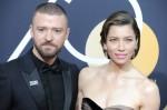 Justin Timberlake, Jessica Biel at arriv...