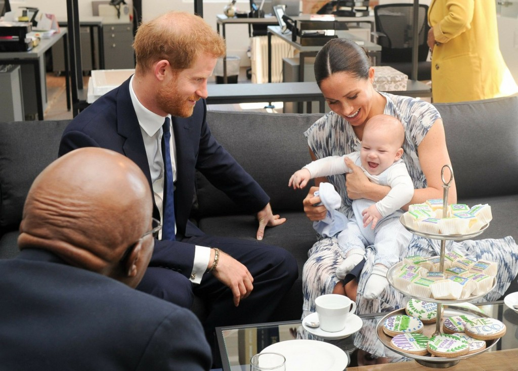 Sussexes in South Africa