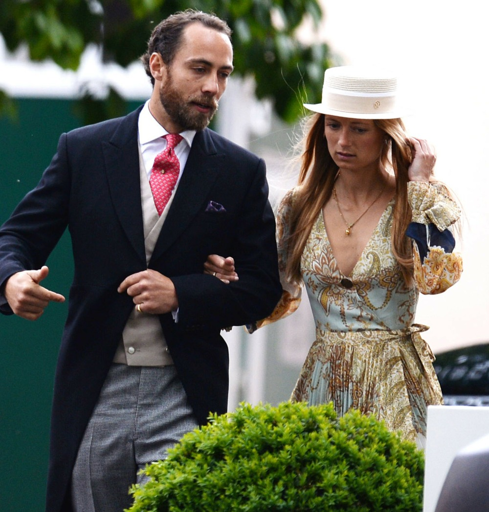 James Middleton and Alizee Thevenet
